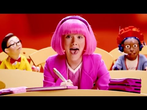 Lazy Town | Stephanie and Ziggy Sing I Like Learning Music Video | Lazy Town Songs