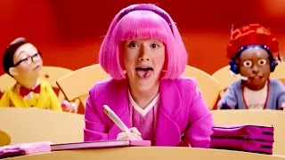 lazy town stephanie and ziggy sing i like learning music video lazy town songs