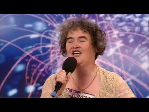 Susan Boyles First Audition  I Dreamed a Dream  Britains Got Talent 2009