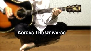 Across The Universe - The Beatles karaoke cover