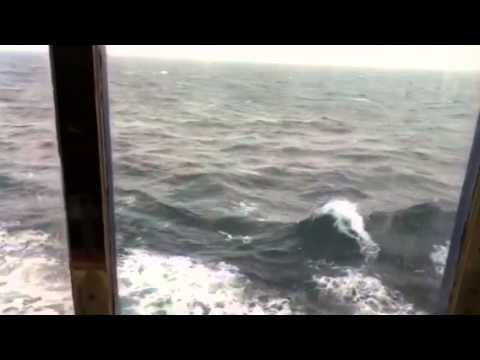 From my cabin on Magellan