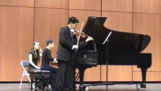 Beethoven Sonata for Violin and Piano No. 7, 4th Movement