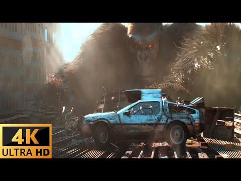 Download Ready Player One • KING KONG STOPS THE RACE 4K HDR ᴬᵗᵐᵒˢ