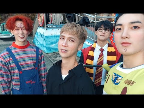 Spending Halloween with cute boys (ft. VAV) - Edward Avila