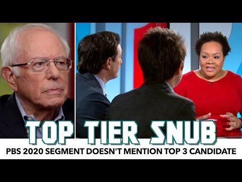 PBS Snubs Bernie Sanders Completely In 2020 Overview