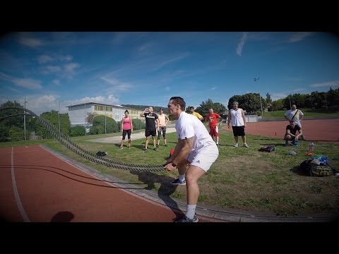 Fitness-Outdoor // Zürich 23.8.2015