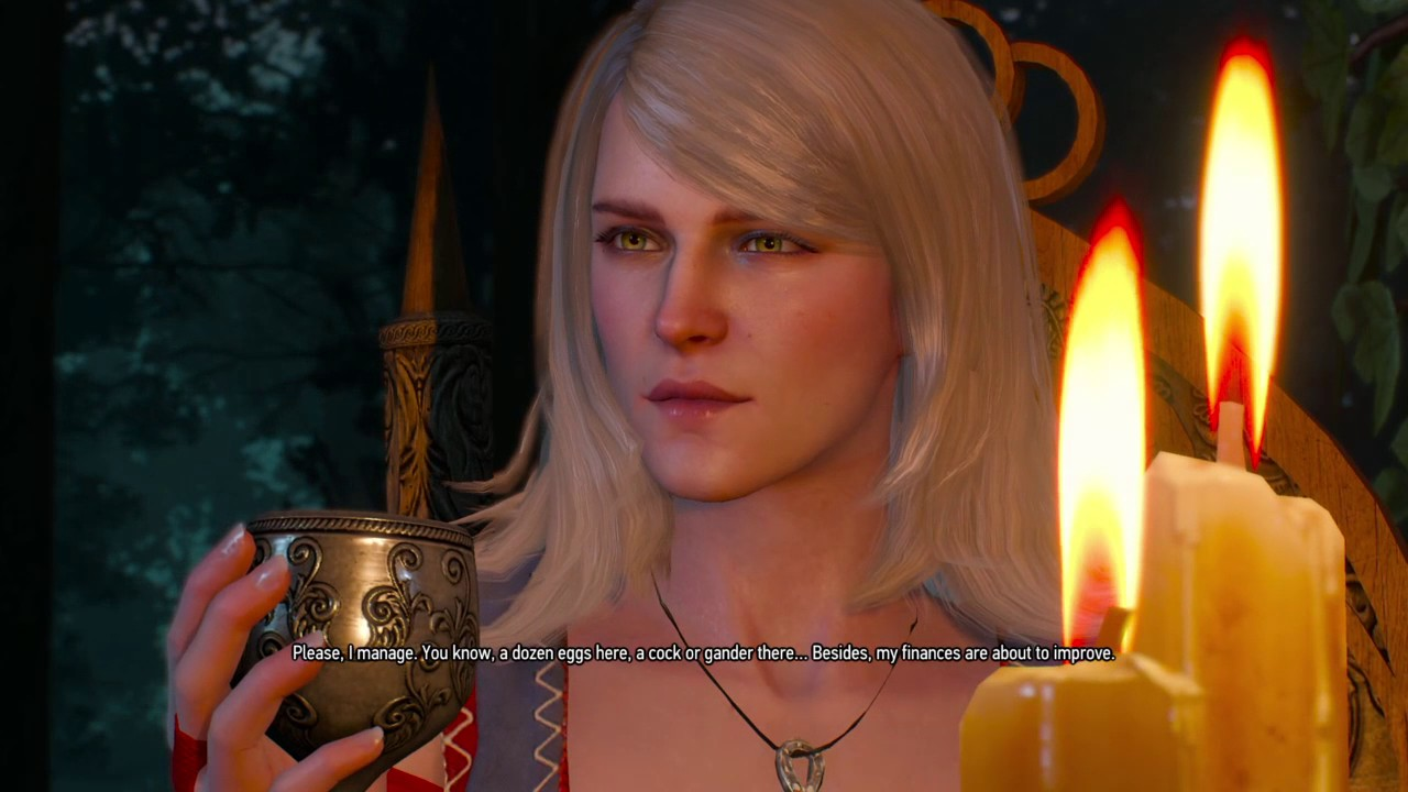 The witcher wild hunt i made love with keira metz gameplay