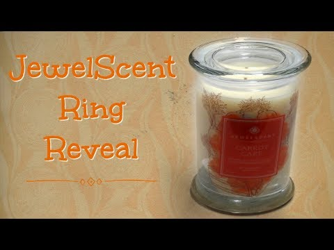 JewelScent Ring Reveal - Carrot Cake Candle!