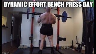 8-23-2019 Jason Blaha Training -  Dynamic Effort Bench Press & Accessories