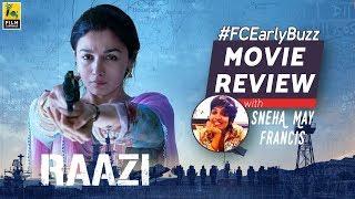 Raazi Movie Review | Film Companion Early Buzz | Sneha May Francis