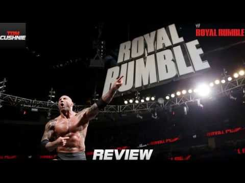 WWE Royal Rumble 2014 REVIEW!