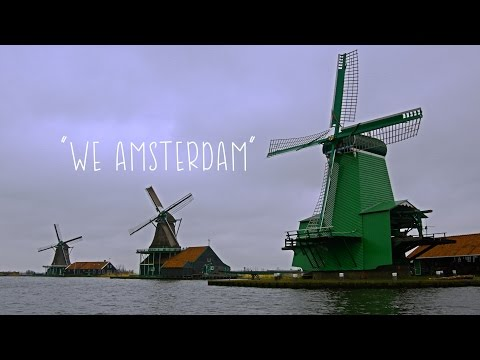 We Amsterdam in 4K - Time Lapse