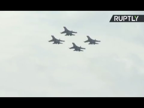 MAKS 2017 Air Show - Day 4 (streamed live)