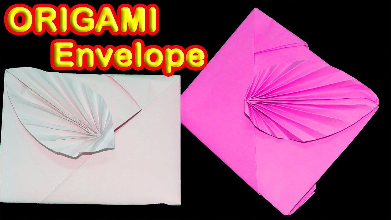 How To Make Paper Envelopes Super Easy Origami Envelope Tutorial