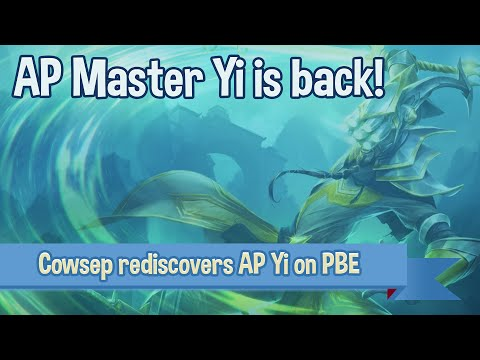 AP Master Yi IS BACK! Season 6