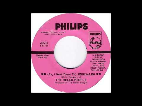 Hello People - Jerusalem (from vinyl 45) (1968)