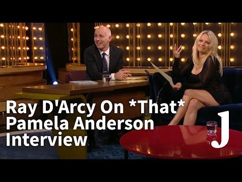 Ray D'Arcy On *That* Pamela Anderson Interview