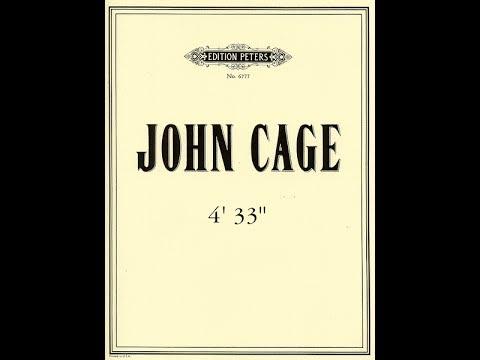 4'33 by John Cage (Piano Sheet)