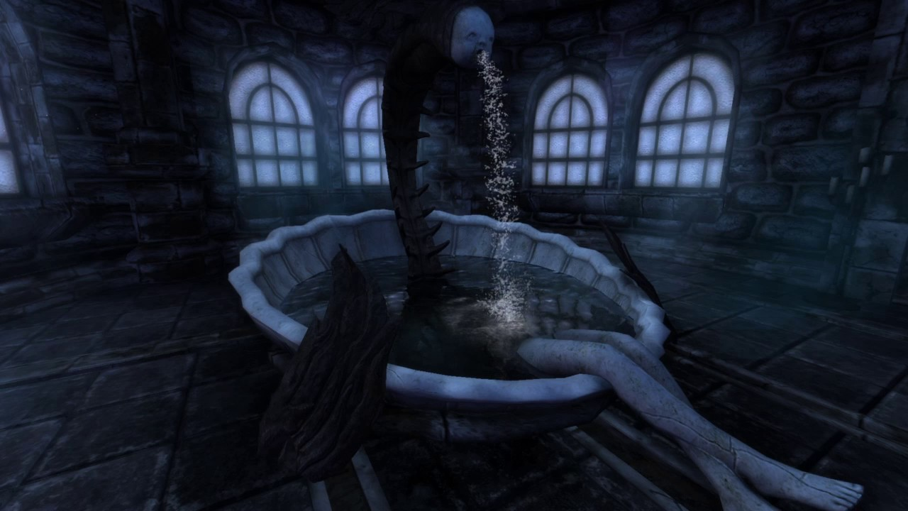 Amnesia The Dark Descent PS4 Gameplay - YouTube