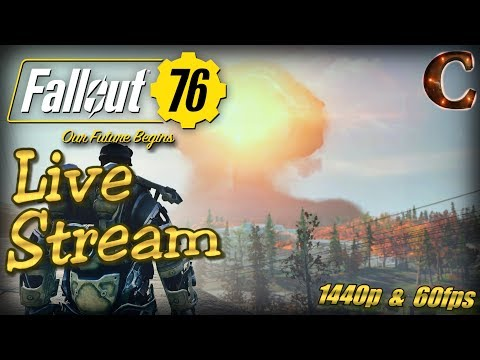 Fallout 76 PC Live Stream in 1440p / 60fps! Part 29: Last Live Stream Ever on YouTube! thumbnail