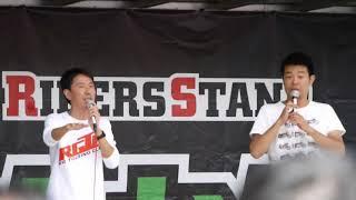 チュートリアルの福田さんとレギュラーの西川さんによるトークショー!