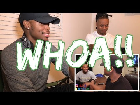 Zias and B.Lou Freestyle Pt. 1 (( REACTION )) - LawTWINZ!!