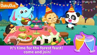 Join Kiki and Miumiu Together with the other Cute Animals for the Fun Forest Feast Adventure