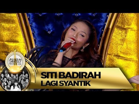 Selalu Mempesona! Siti Badriah [LAGI SYANTIK] - Anugerah Dangdut Indonesia 2018 (16/11)
