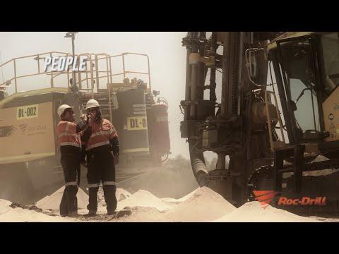 Roc-Drill - Blast hole drilling services Australia