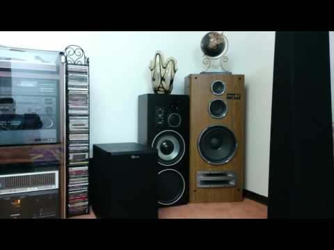 Demi Technics A51, best stereo speakers Technics has ever made!
