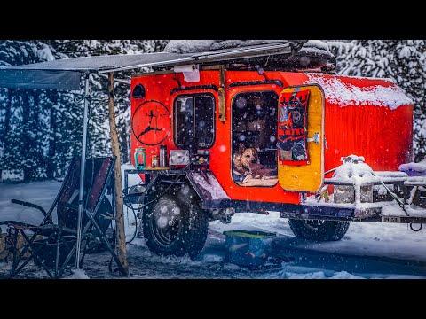 Winter Camping -