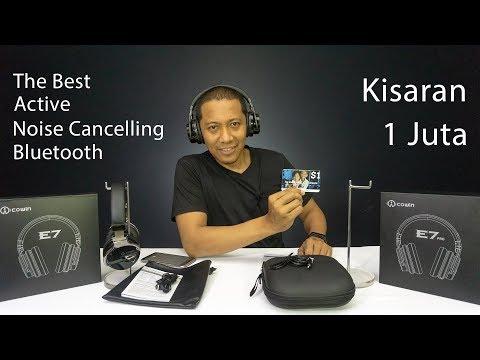 The Best Active Noise Cancelling & Bluetooth Headphone Kisaran 1 Juta, Cowin E7 ANC dan E7 Pro
