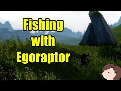 Fishing with Crendor Ep 28: Egoraptor / Arin Hanson of Game Grumps