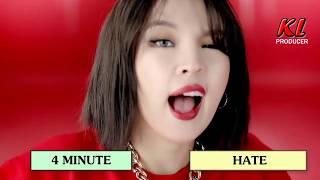 Những MV cuối cùng của các nhóm nhạc Kpop còn đầy đủ thành viên