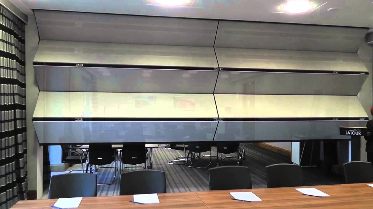 Style Skyfold Vertically Rising Partitions Demonstration