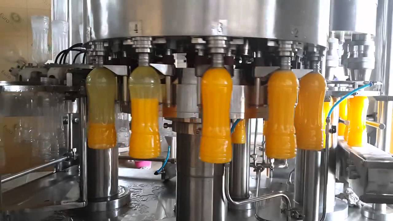 Fully Automatic Synthetic Juice Filling Machine By Venus