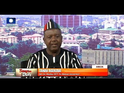 President Buhari Failed To Address The Situation In Benue, Agerzua Insists |Sunrise Daily|