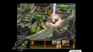 Command & Conquer Generals PC Games Gameplay -