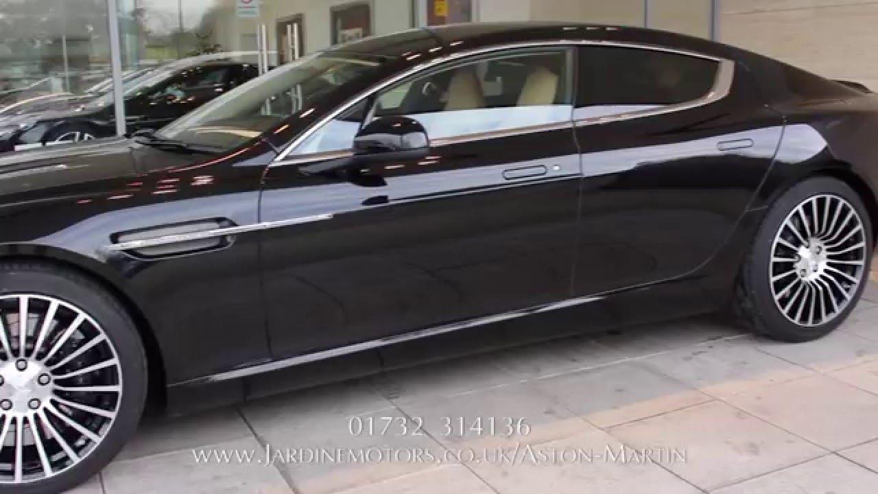 Jardine Motors Group | Aston Martin Onyx Black Rapide S | Lancaster