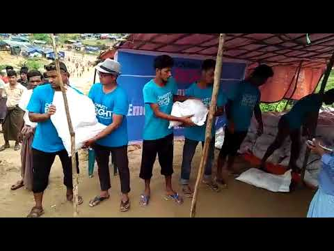 Charity Right | Rohingya Distribution in Cox's Bazar