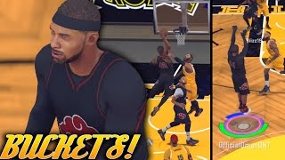 Getting Buckets On Bel Air Academy - Exposing The Zone - NBA 2K17 Pro Am Gameplay