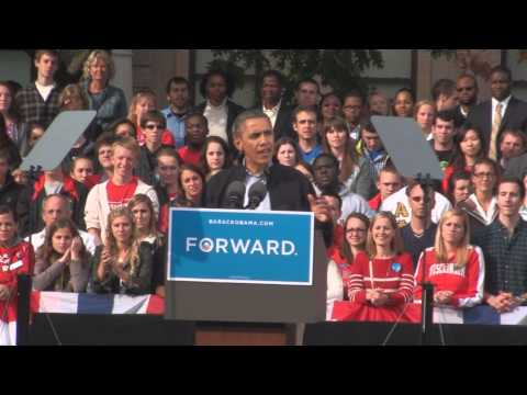 RAW: President Obama's entire UW-Madison speech (Oct. 4th, 2012)