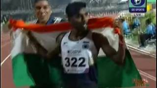 G LAKSHMANAN WON GOLD MEN S 5000 METERS Race Asian
