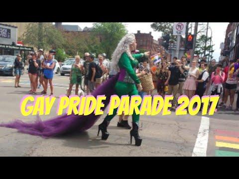 Gay Pride Parade 2017🌈Charlottetown P.E.I.