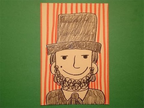 Let S Draw Abraham Lincoln Youtube