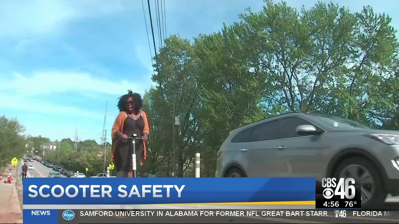 E-scooters safety