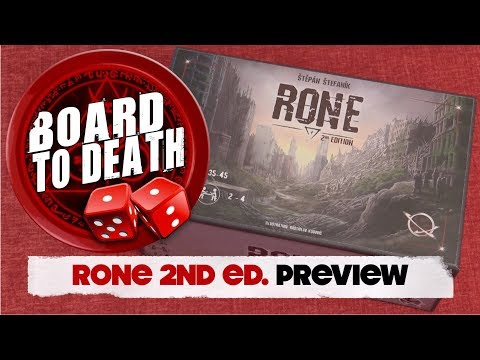 Rone - 2nd Edition Board Game Video Preview