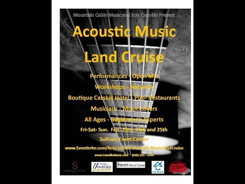 Rob Cannillo's Acoustic Music Land Cruise