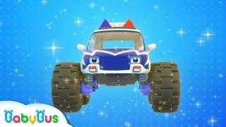Download Monster Police Car Patrol Team   BabyBus Safety Tips   Super Rescue Team   Baby Song   BabyBus Mp3 and Videos