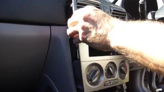 Unboxing and fitting a JVC KW-V21BT Stereo & reversing camera into Subaru Forester